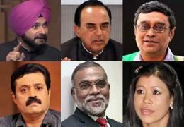 Swamy-Sidhu-Mary-Kom-among-six-nominated-to-Rajya-Sabha